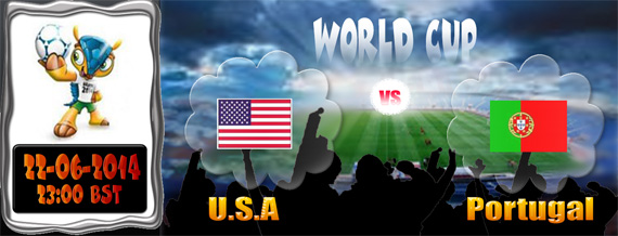 2014 FIFA World Cup Day 11 - USA v Portugal