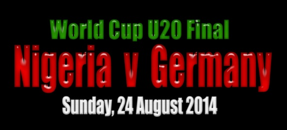U20 Women World Cup 2014 Final: Nigeria v Germany