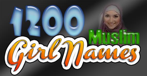 1200 Good Baby Girl Names For Muslim Warnacat
